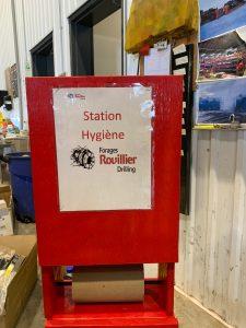 Station d'hygiène